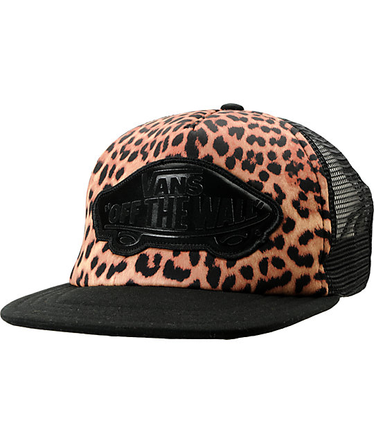 cheetah vans hat