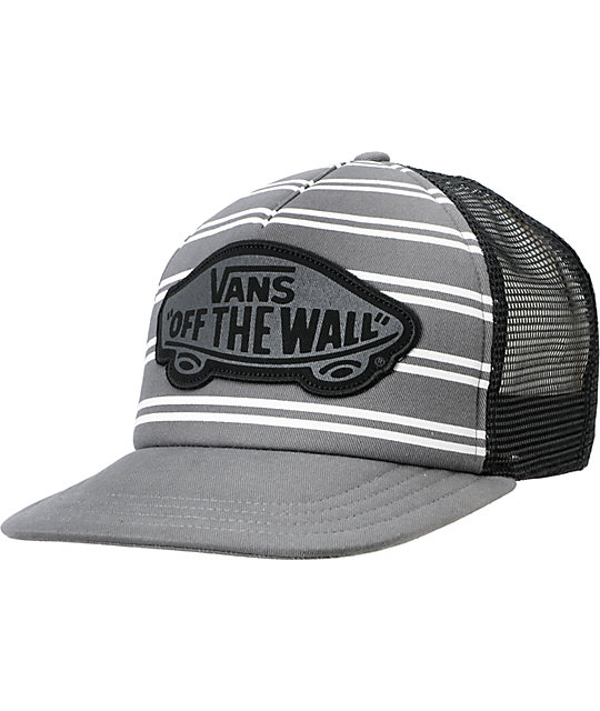 Vans Beach Girl Skimmer Grey Snapback Trucker Hat