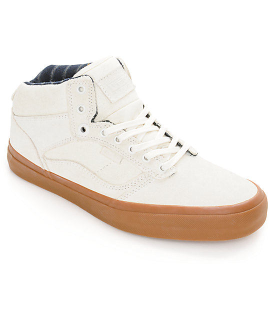 Vans Bedford Marshmallow & Gum Skate Shoes (Mens)