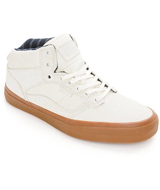 Vans Bedford Marshmallow & Gum Skate Shoes