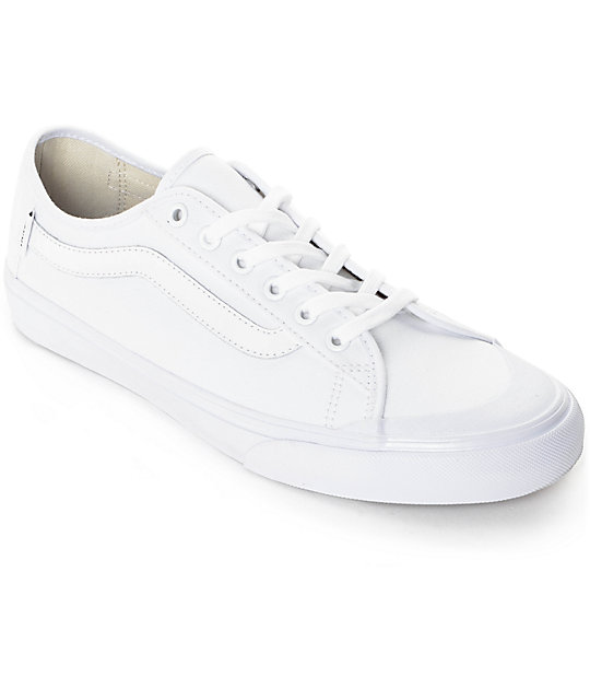 Vans Black Ball SF True White Skate Shoes (Mens)
