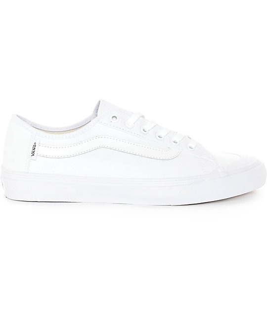Vans Black Ball SF True White Skate Shoes