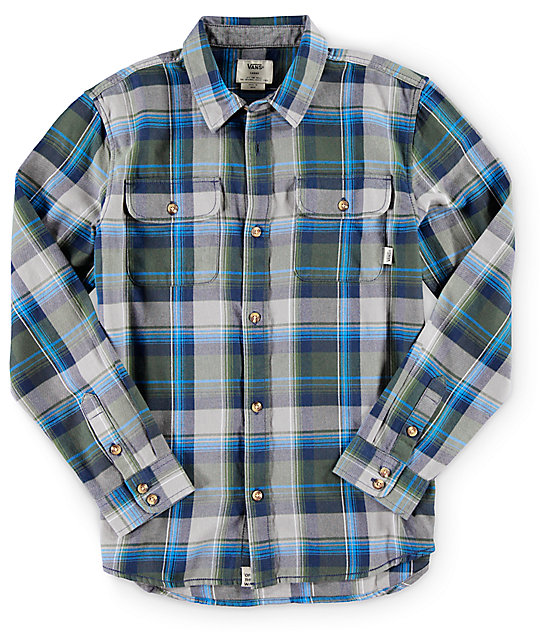 Vans Boys Elm Flannel Shirt