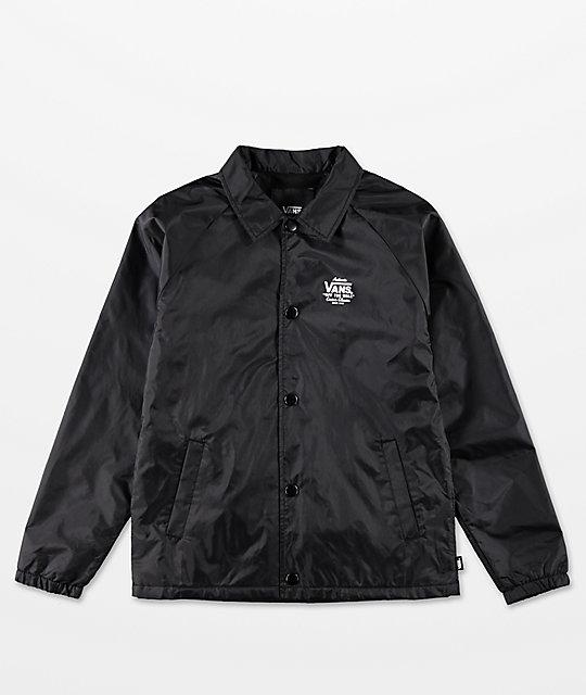 vans black jacket