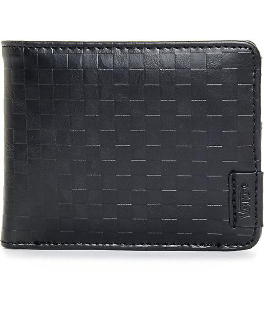 leather vans wallet