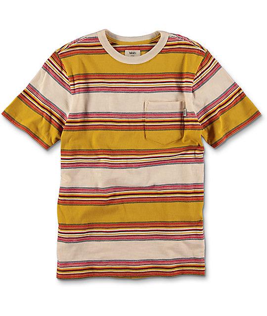 Vans Brunswick Tawny & Olive Boys T-Shirt