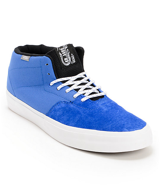 Vans Cab Lite Royal Blue Skate Shoes