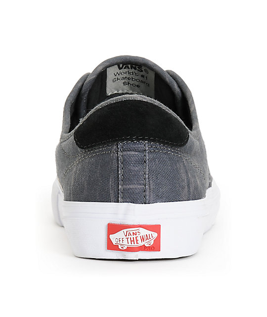 Vans Chima Pro Black Static Canvas Skate Shoes