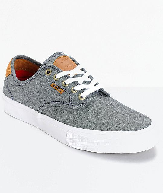 Vans Skate Shoes Mens Chambray Chima Pro Cord