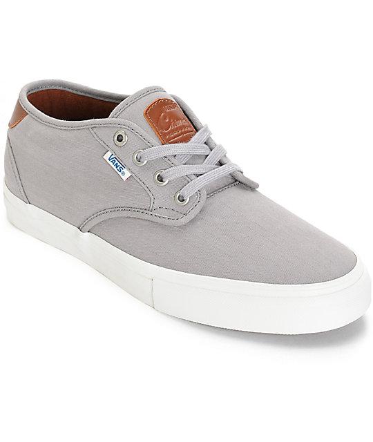 Vans Chima Pro Estate Herringbone Skate Shoes (Mens)
