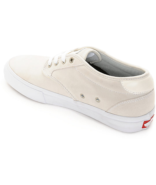 Vans Chima Pro Estate White Skate Shoes