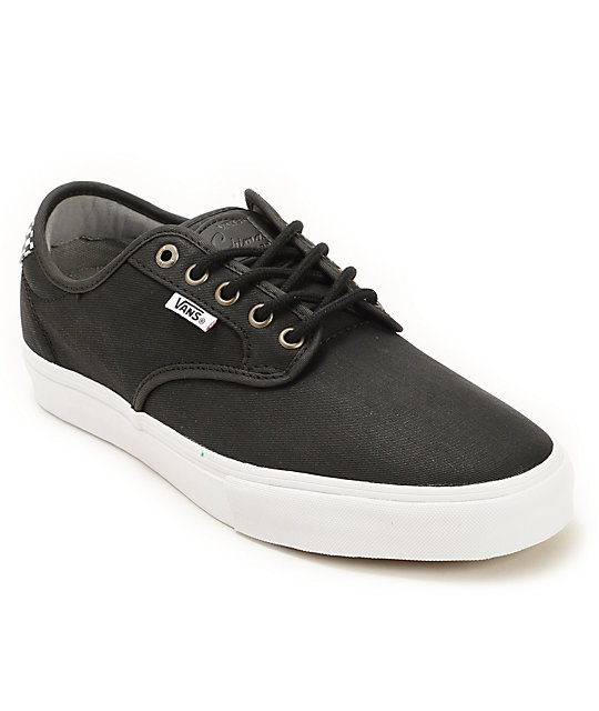 Vans Chima Pro Waxed Twill Skate Shoes