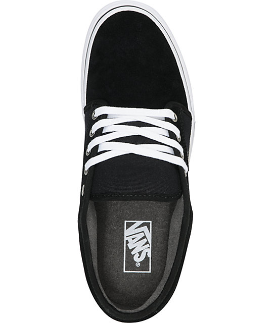 Vans Chukka Low Black, Pewter & White Skate Shoes