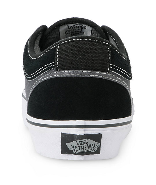 Vans Chukka Low Black & Dark Slate Skate Shoes