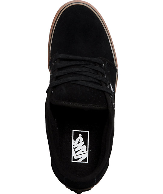 Vans Chukka Low Black & Gum Skate Shoes
