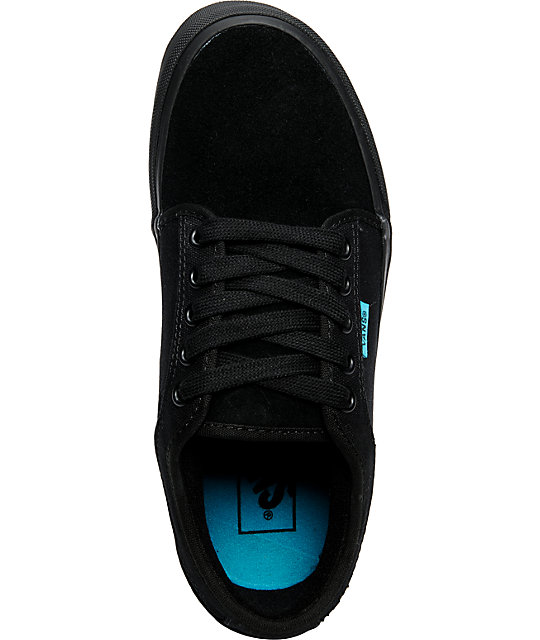 Vans Chukka Low Black & Turquoise Shoes