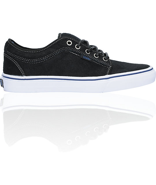 Vans Chukka Low Black Dura-Suede Skate Shoes (Mens)