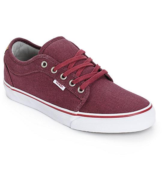 Vans Chukka Low Cork Skate Shoes (Mens)
