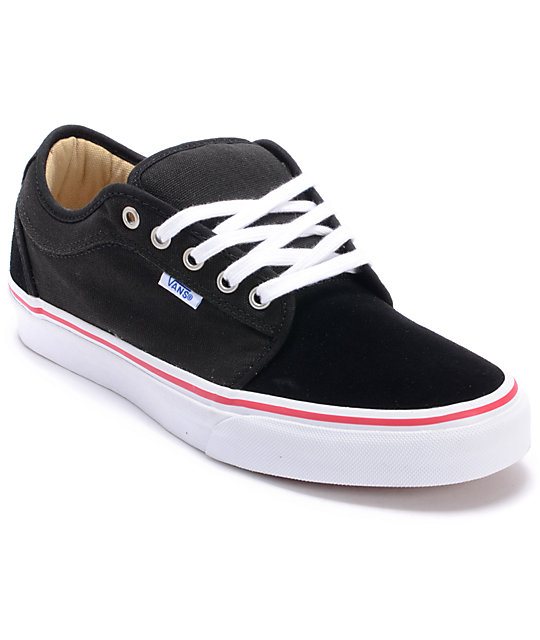 Vans Chukka Low Cruise Lose Black Skate Shoes (Mens)