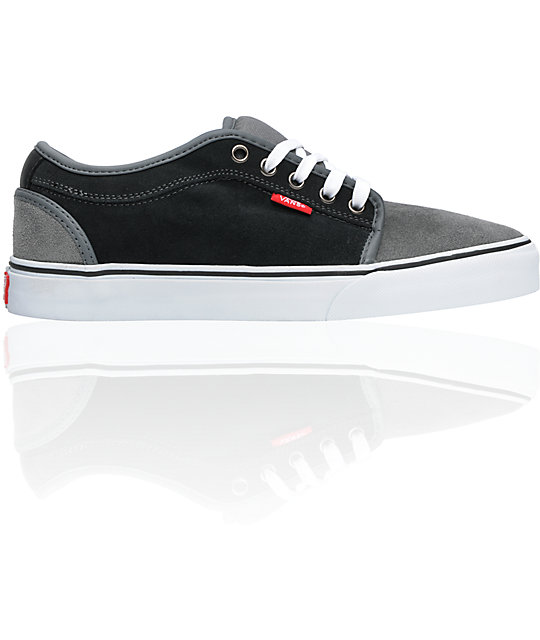 Vans Chukka Low Keegan Grey & Carbon Skate Shoes (Mens)