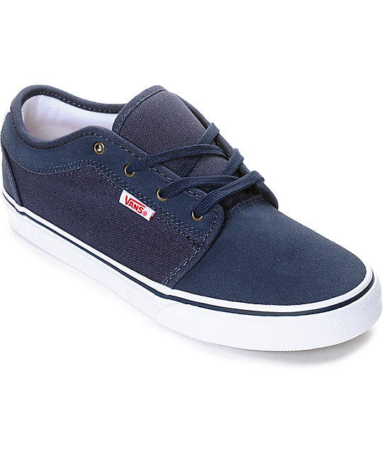 Vans Chukka Low Persian Night, White, & Red Boys Shoes at Zumiez : PDP