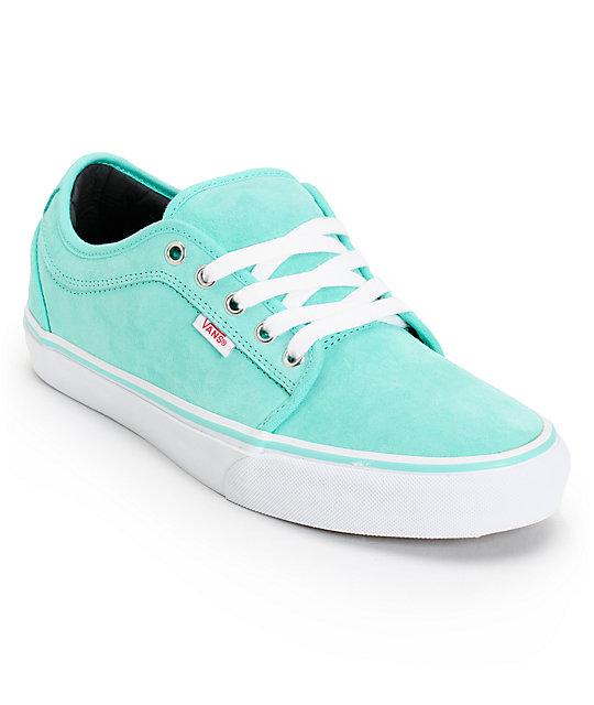 Vans Seafoam Green Shoes