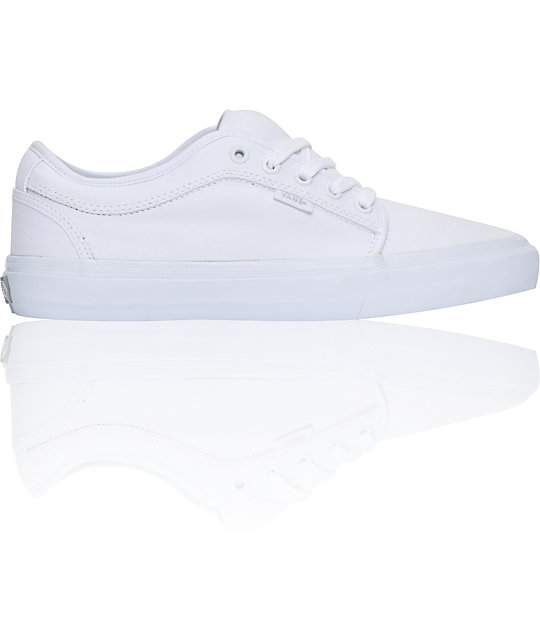 Vans Chukka Low White Skate Shoes