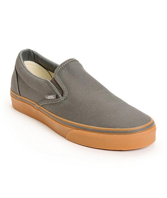 vans classic slip on skate shoes