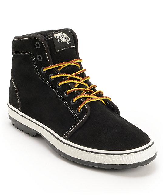 Vans Cordoba 106 Hi Black & White Mens Boots