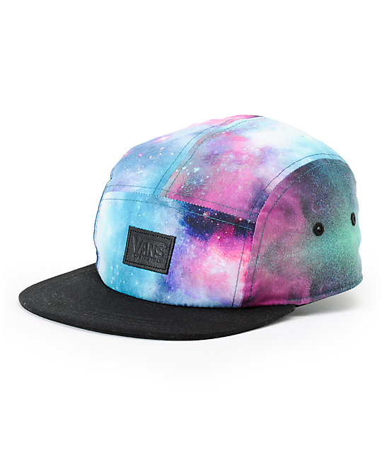 Vans Cosmic Black 5 Panel Hat
