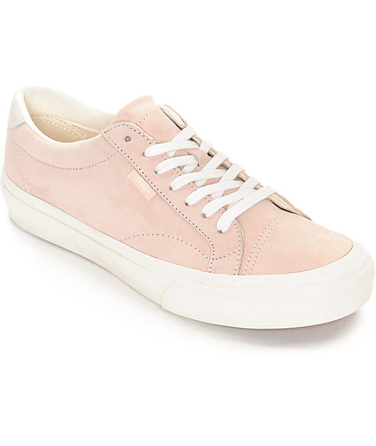 Vans Court DX Silver Peony & White Womens Shoes