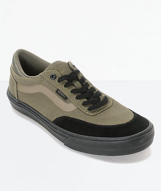 Vans Crockett 2 Ivy Green Skate Shoes