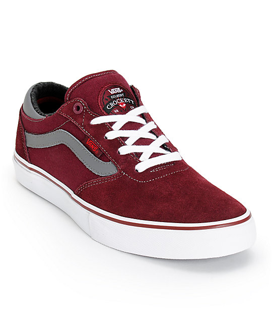 Vans Crockett Pro Port Royale Skate Shoes (Mens)
