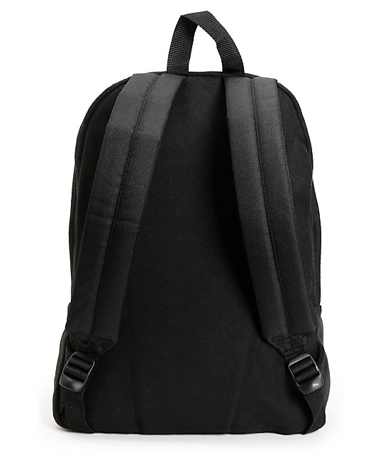 Vans Deana Black Wool Backpack
