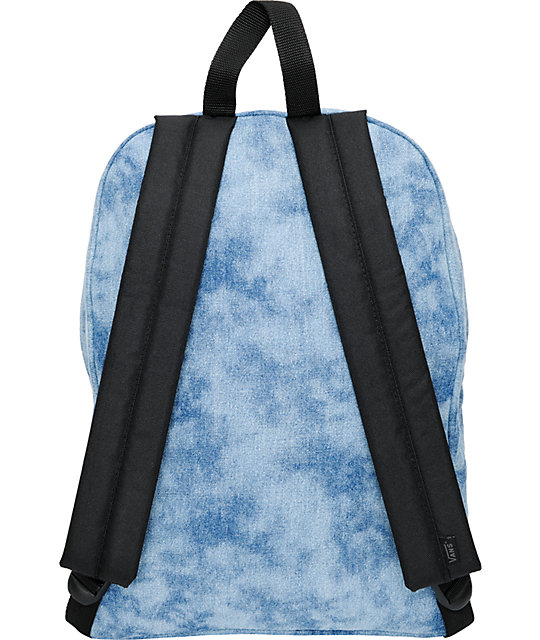 Vans Deserted Snake Tie Dye Denim Backpack