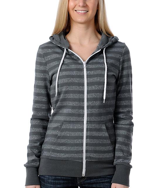 Vans Division Stripe Grey Hoodie