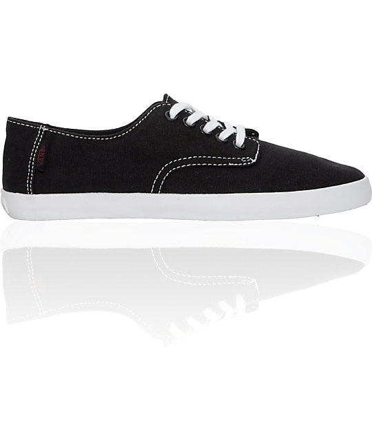 Vans E Street Black Shoes (Womens)