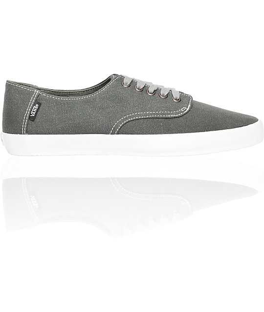 Vans E Street Distressed Charcoal Skate Shoes (Mens)