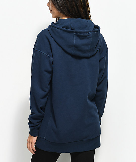 Vans Elongated Blue Hoodie
