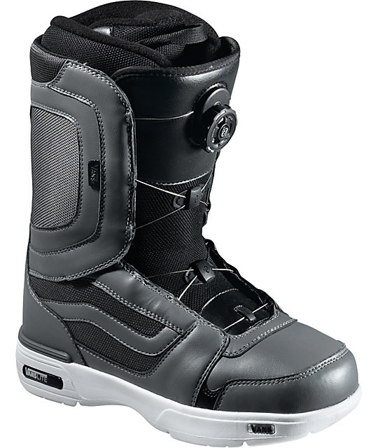 Vans Encore Grey & Black Mens Snowboard Boots