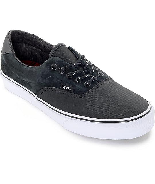 Vans Era 59 DLX Black Reflective Skate Shoes
