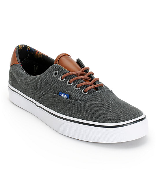 Vans Era 59 Dark Shadow & Tribal Leaders Skate Shoes (Mens)