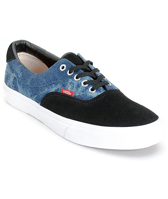 Vans Era 59 Denim Skate Shoes (Mens)
