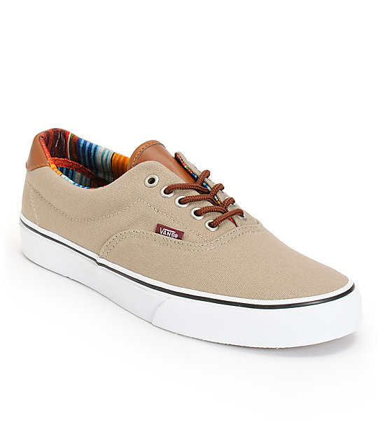 Vans Era 59 Dune & Multi Stripe Skate Shoes (Mens)
