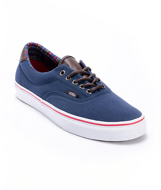 Vans Era 59 H&L Dress Blues Skate Shoes (Mens)
