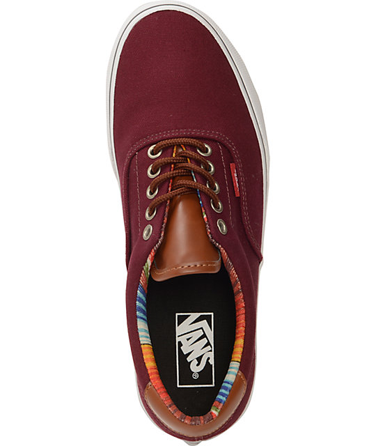 Vans Era 59 Port Royale & Multi Stripe Skate Shoes