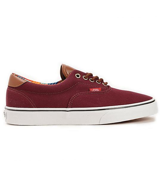 60d91293e889 Vans era port royale multi stripe skate shoes zumiez jpg 540x640 Reef skate shoes  three stripes