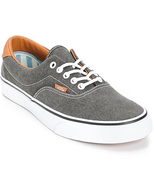 grey vans era 59
