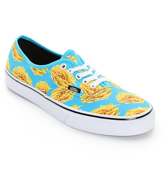 Vans Era Authentic Fries Skate Shoes (Mens)