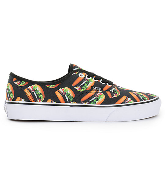Vans Era Authentic Hamburgers Mens Skate Shoes